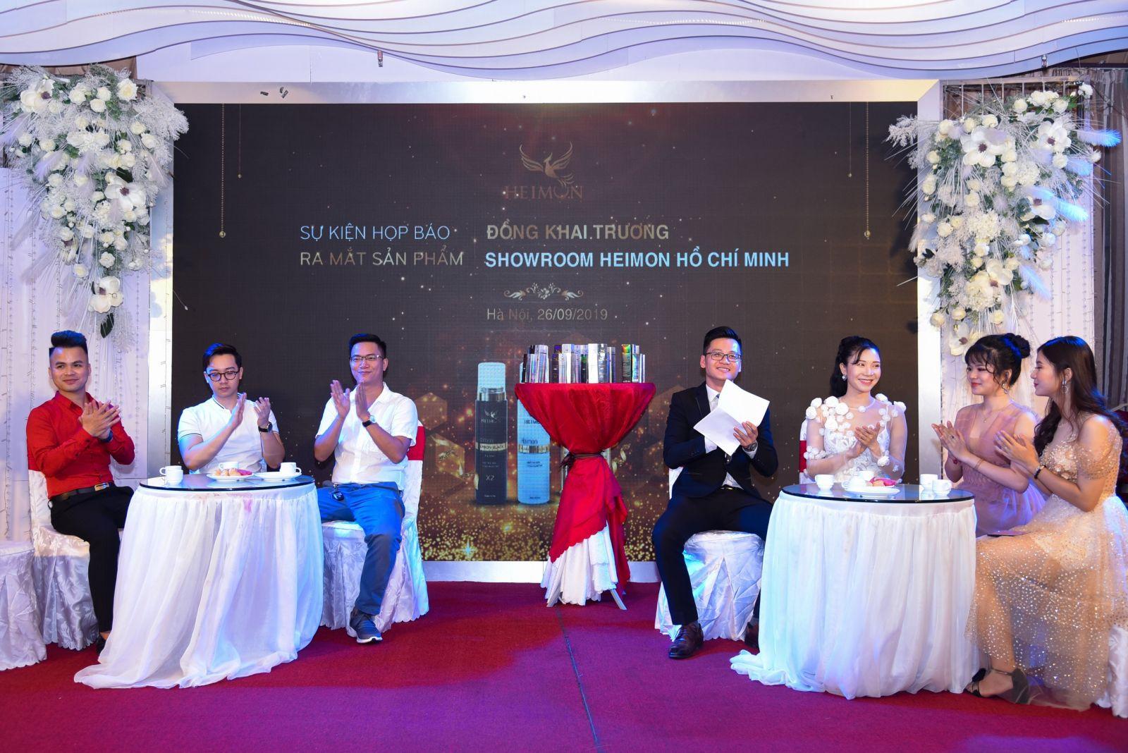 Có sự tham gia của Thanh Bi, MC Hà Đan, Huy Quốc