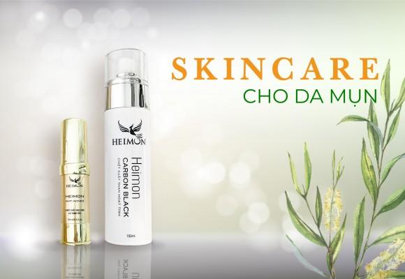Các Bước Skincare Cho Da Mụn Nàng Cần Phải Biết